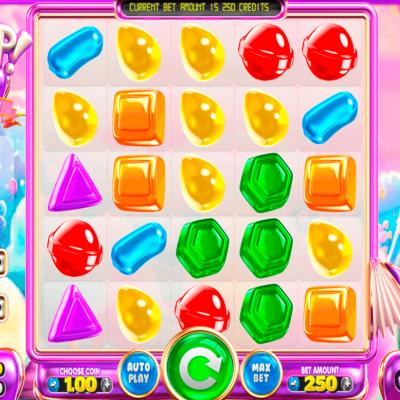 Sugar Pop Slot Machine Gameplay