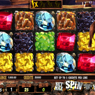 More Gold Diggin Slot Machine Gameplay