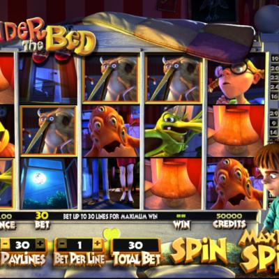 Under The Bed Slot Machine Gameplay